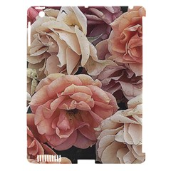 Great Garden Roses, Vintage Look  Apple Ipad 3/4 Hardshell Case (compatible With Smart Cover) by MoreColorsinLife
