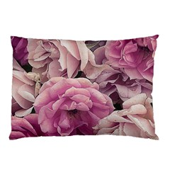 Great Garden Roses Pink Pillow Cases (two Sides) by MoreColorsinLife