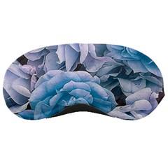 Great Garden Roses Blue Sleeping Masks by MoreColorsinLife