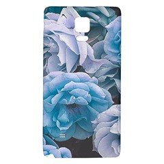 Great Garden Roses Blue Galaxy Note 4 Back Case by MoreColorsinLife