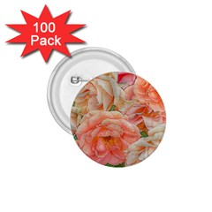 Great Garden Roses, Orange 1 75  Buttons (100 Pack)  by MoreColorsinLife