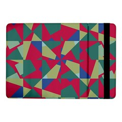 Shapes In Squares Pattern	samsung Galaxy Tab Pro 10 1  Flip Case by LalyLauraFLM