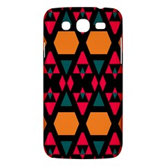 Rhombus And Other Shapes Pattern Samsung Galaxy Mega 5 8 I9152 Hardshell Case  by LalyLauraFLM