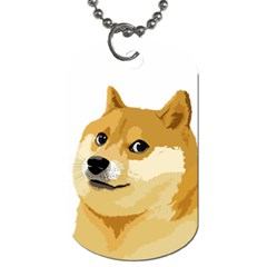 Dogecoin Dog Tag (one Sided) by dogestore
