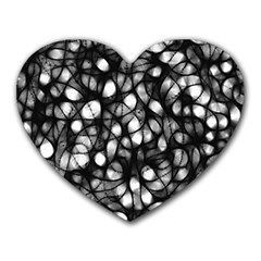 Chaos Decay Heart Mousepads by KirstenStar