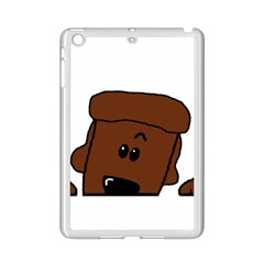 Peeping Chocolate Poodle iPad Mini 2 Enamel Coated Cases by TailWags