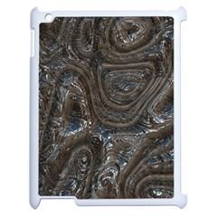 Brilliant Metal 2 Apple iPad 2 Case (White) by MoreColorsinLife