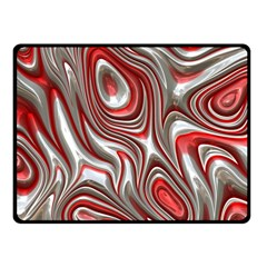 Metal Art 9 Red Fleece Blanket (small) by MoreColorsinLife