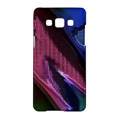 Colorful Broken Metal Samsung Galaxy A5 Hardshell Case  by MoreColorsinLife