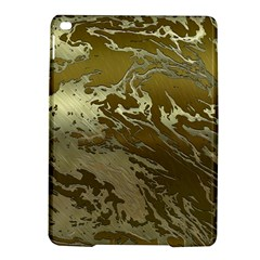 Metal Art Swirl Golden Ipad Air 2 Hardshell Cases by MoreColorsinLife