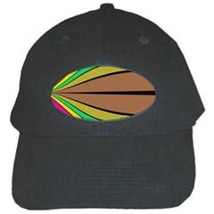 Symmetric Waves Black Cap by LalyLauraFLM