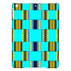Triangles In Rectangles Pattern Apple Ipad Air Hardshell Case by LalyLauraFLM