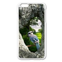 Bird In The Tree  Apple Iphone 6 Plus Enamel White Case by infloence