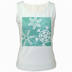 Snowflakes 3  Women s Tank Tops by theimagezone