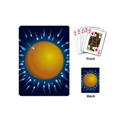 Sperm Fertilising Egg  Playing Cards (Mini)  by ScienceGeek