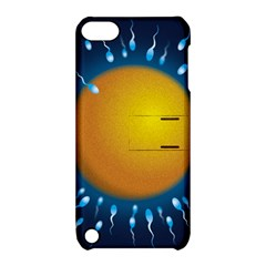 Sperm Fertilising Egg  Apple Ipod Touch 5 Hardshell Case With Stand by ScienceGeek