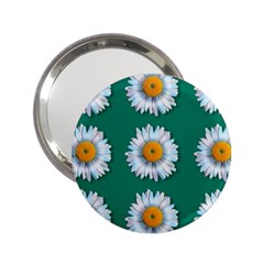 Daisy Pattern  2 25  Handbag Mirrors by theimagezone