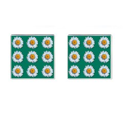 Daisy Pattern  Cufflinks (square) by theimagezone