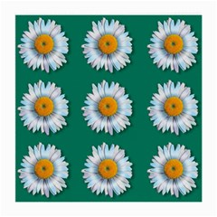 Daisy Pattern  Medium Glasses Cloth (2 Side) by theimagezone
