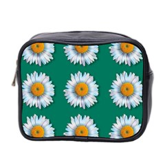 Daisy Pattern  Mini Toiletries Bag 2-Side by theimagezone