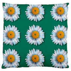 Daisy Pattern  Large Cushion Cases (two Sides)  by theimagezone
