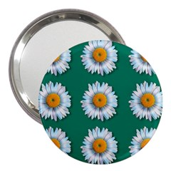 Daisy Pattern  3  Handbag Mirrors by theimagezone