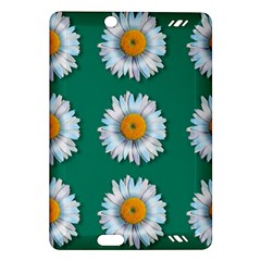 Daisy Pattern  Kindle Fire Hd (2013) Hardshell Case by theimagezone