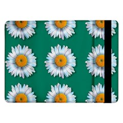 Daisy Pattern  Samsung Galaxy Tab Pro 12 2  Flip Case by theimagezone