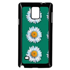 Daisy Pattern  Samsung Galaxy Note 4 Case (black) by theimagezone