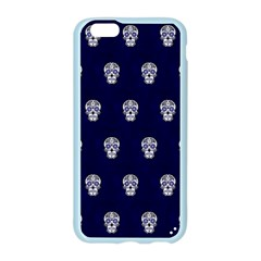 Skull Pattern Blue  Apple Seamless iPhone 6 Case (Color) by MoreColorsinLife