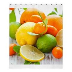 Citrus Fruits Shower Curtain 60  x 72  (Medium)