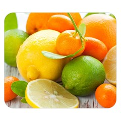 Citrus Fruits Double Sided Flano Blanket (small)  by emkurr