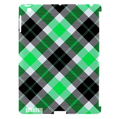 Smart Plaid Green Apple Ipad 3/4 Hardshell Case (compatible With Smart Cover) by ImpressiveMoments