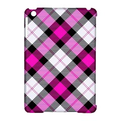 Smart Plaid Hot Pink Apple iPad Mini Hardshell Case (Compatible with Smart Cover) by ImpressiveMoments