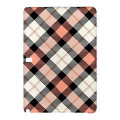 Smart Plaid Peach Samsung Galaxy Tab Pro 12 2 Hardshell Case by ImpressiveMoments