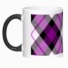 Smart Plaid Purple Morph Mugs by ImpressiveMoments