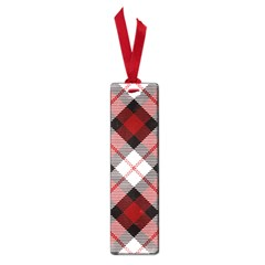 Smart Plaid Red Small Book Marks by ImpressiveMoments