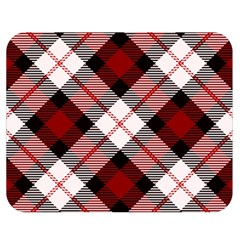 Smart Plaid Red Double Sided Flano Blanket (medium)