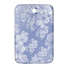 Delicate Floral Pattern,blue  Samsung Galaxy Note 8 0 N5100 Hardshell Case  by MoreColorsinLife