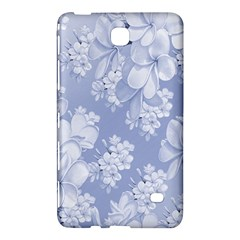Delicate Floral Pattern,blue  Samsung Galaxy Tab 4 (7 ) Hardshell Case  by MoreColorsinLife
