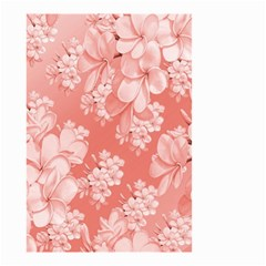 Delicate Floral Pattern,pink  Small Garden Flag (two Sides) by MoreColorsinLife