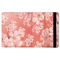 Delicate Floral Pattern,pink  Apple iPad 2 Flip Case by MoreColorsinLife