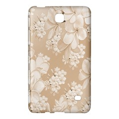 Delicate Floral Pattern,softly Samsung Galaxy Tab 4 (7 ) Hardshell Case  by MoreColorsinLife