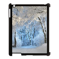 Another Winter Wonderland 1 Apple iPad 3/4 Case (Black) by MoreColorsinLife