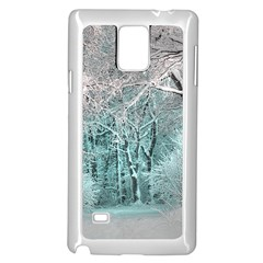 Another Winter Wonderland 2 Samsung Galaxy Note 4 Case (White) by MoreColorsinLife