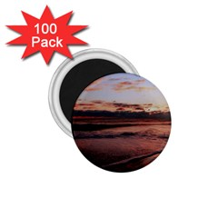 Stunning Sunset On The Beach 3 1 75  Magnets (100 Pack)  by MoreColorsinLife