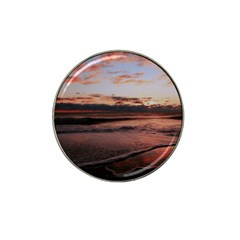 Stunning Sunset On The Beach 3 Hat Clip Ball Marker (4 Pack) by MoreColorsinLife