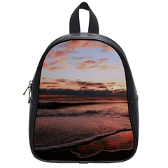Stunning Sunset On The Beach 3 School Bags (small)  by MoreColorsinLife