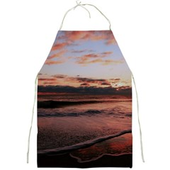 Stunning Sunset On The Beach 3 Full Print Aprons by MoreColorsinLife