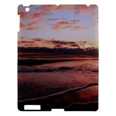 Stunning Sunset On The Beach 3 Apple Ipad 3/4 Hardshell Case by MoreColorsinLife